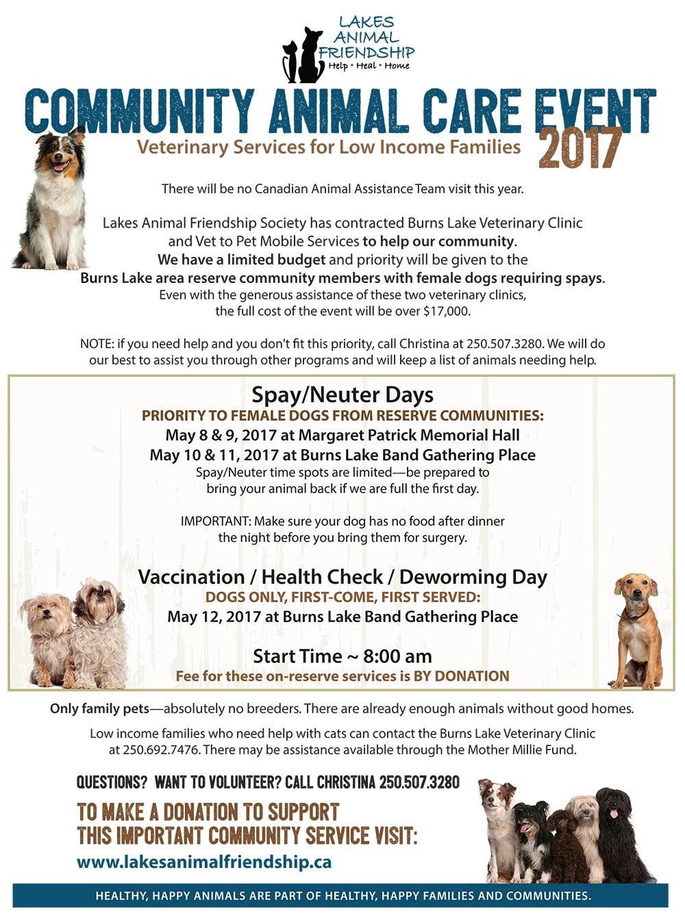 Community Animal Care 2017