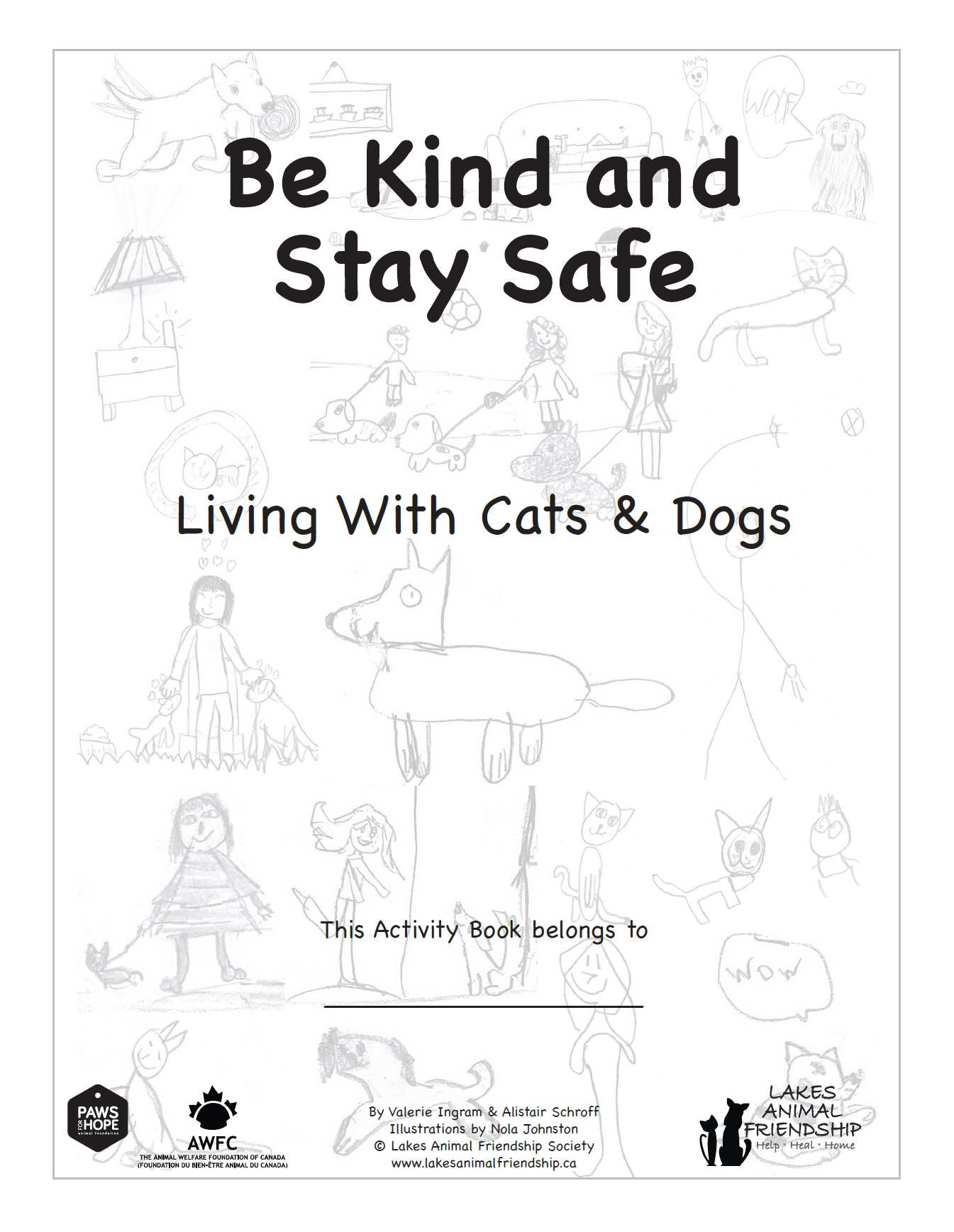Being Kind, Staying Safe - Living with Cats and Dogs